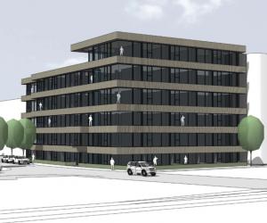Transformatie kantoorgebouw naar 82 appartementen