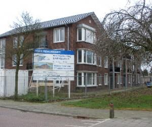 Nieuwbouw appartementencomplex met zonnecollectorinstallatie