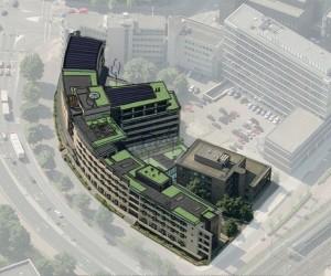 Transformatie kantoorgebouw naar 258 appartementen